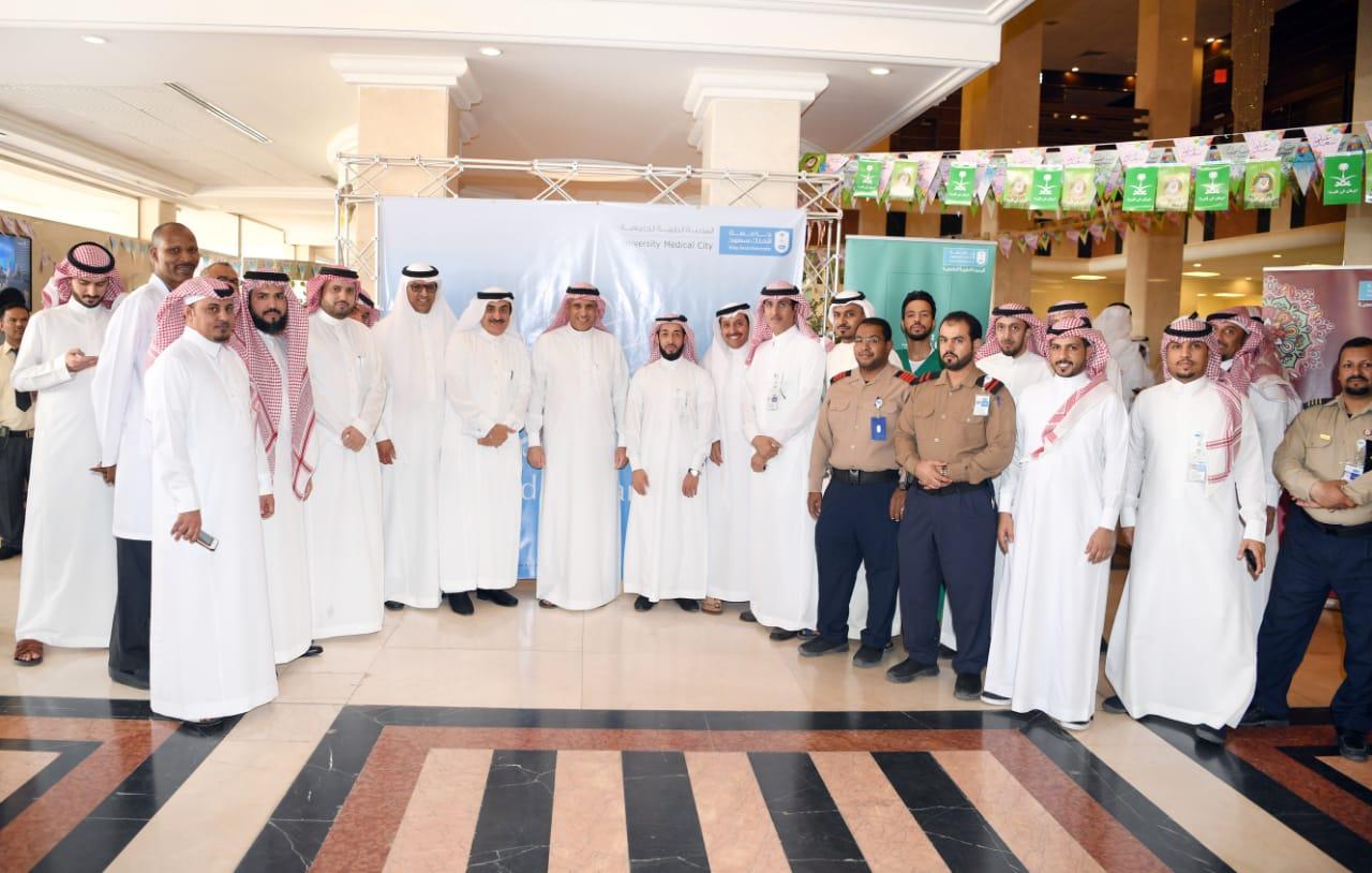 المدينة الطبية تعايد المنومين في مستشفيي الملك خالد والملك عبدالعزيز الجامعيين