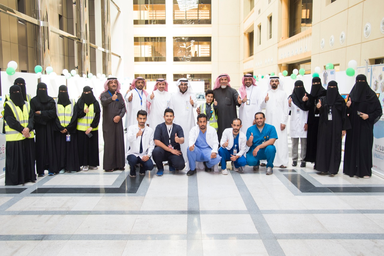 The volunteer program at King Saud University celebrates its international day