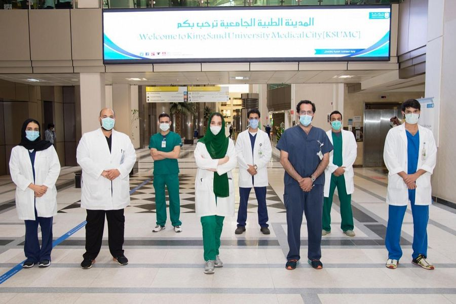 King Saud University Medical City surgical team succeeds in saving patient from Foot amputation