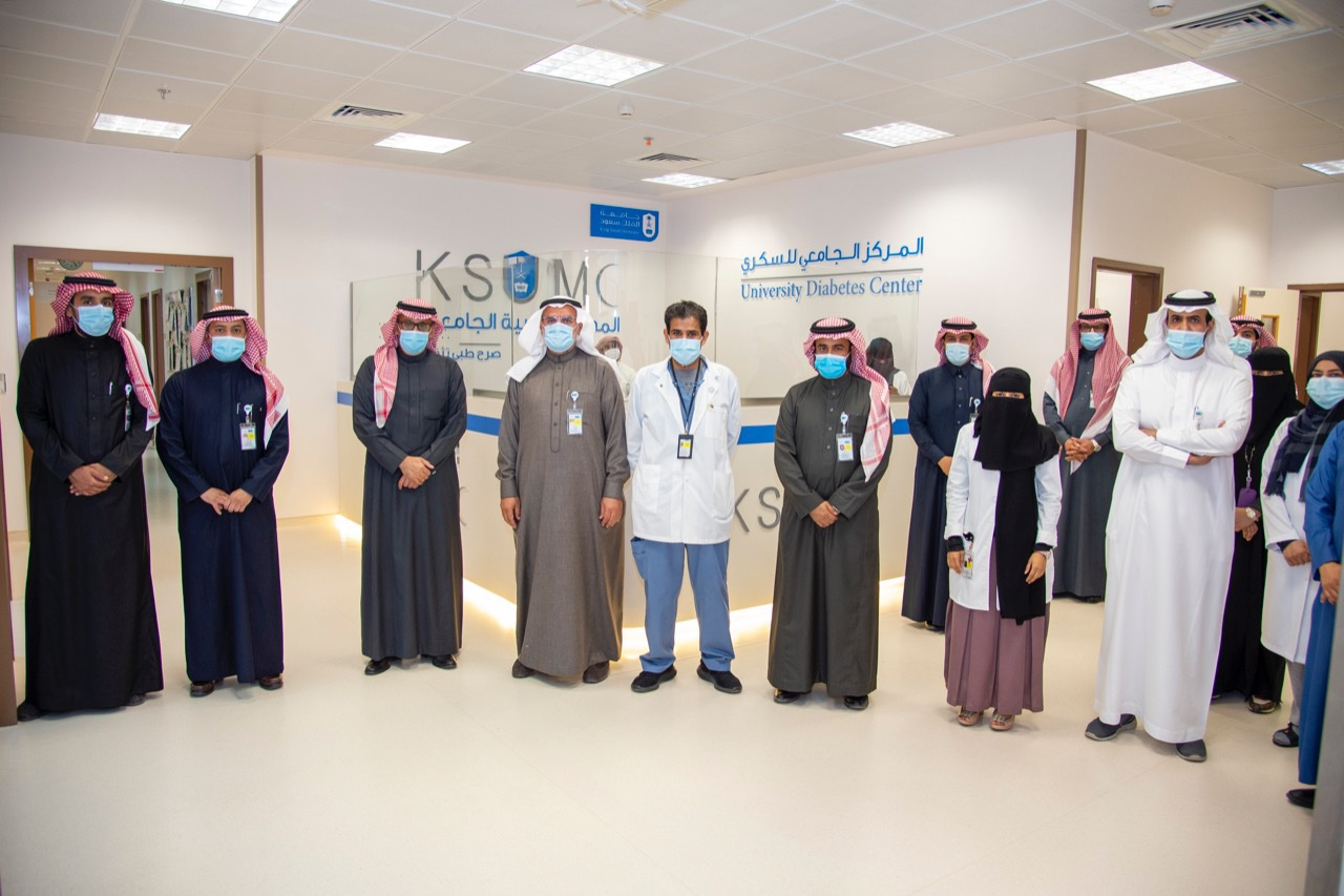 KSU Rector inaugurates the new headquarters of the University Diabetes Center