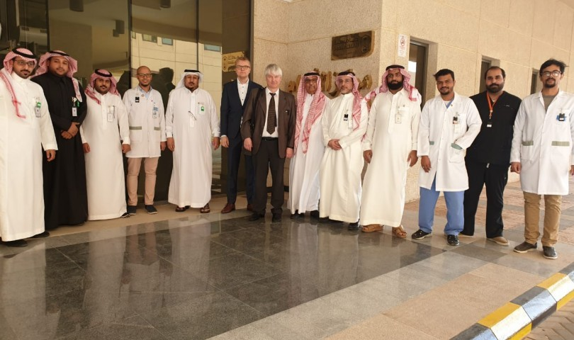 Radiation and Nuclear Safety Authority of Finland (STUK) visits King Saud University Medical City