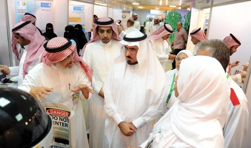"""كلية الطب والمدينة الطبية بجامعة الملك سعود تحتفلان """"باليوم العالمي للبيئة 2015 م"""""""