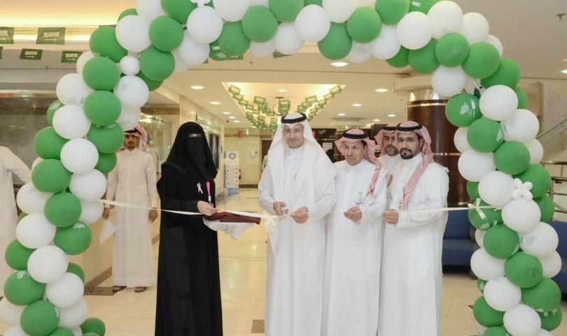 """حملة للتوعوية بـ """"سرطان الثدي"""" في مستسفى الملك عبدالعزيز الجامعي"""