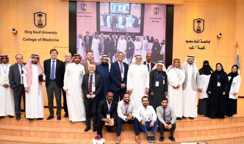 إنطلاق اعمال دورة الشرق الأوسط السابعة لأمراض الجهاز الهضمي والكبد لدى الأطفال بجامعة الملك سعود