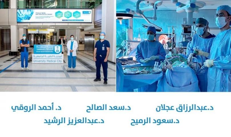 Performing more than 100 Expanded Endonasal Endoscopic Skull Base surgical operations at King Saud