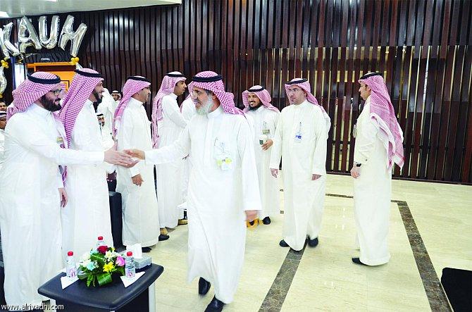 """مستشفى الملك عبدالعزيز الجامعي ينظم """" اللقاء المفتوح لمنسوبيه """""""