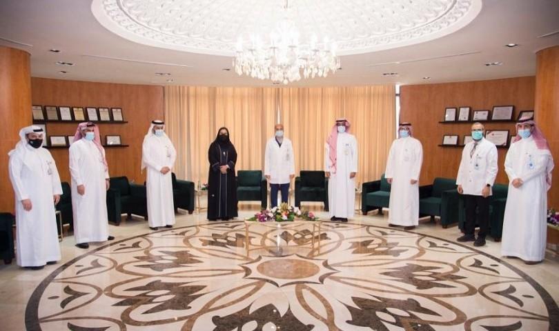 توقيع مذكرة تفاهم بين المدينة الطبية وكلية التمريض بجامعة الملك سعود