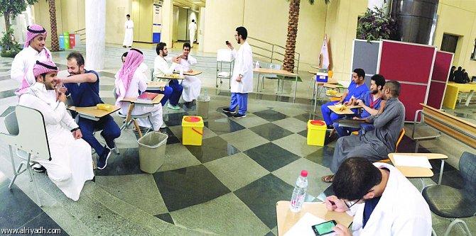 حملة التطعيم الموسمية تستهدف منتسبي جامعة الملك سعود وطلابها وزوارها