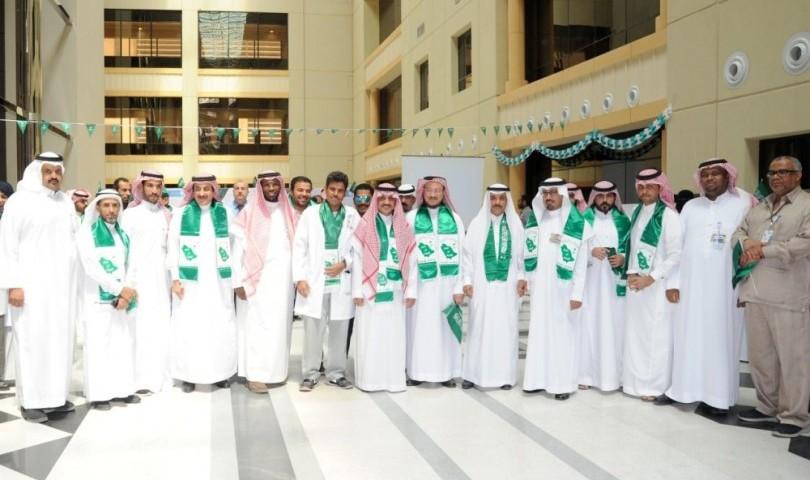 طبية جامعة الملك سعود تحتفل باليوم الوطني