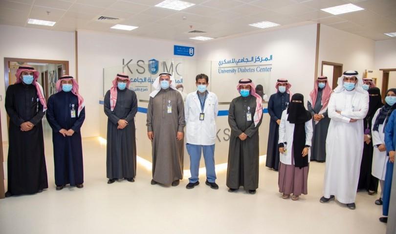 KSU Rector inaugurates the new headquarters of the University Diabetes Center