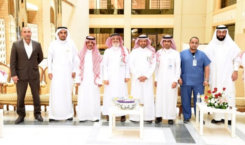 المدينة الطبية بجامعة الملك سعود تحتفل بعيد الفطر