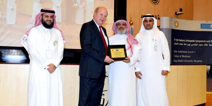 انطلاق فعاليات المؤتمر الخامس لجراحة عظام الأطفال في المدينة الطبية بجامعة الملك سعود
