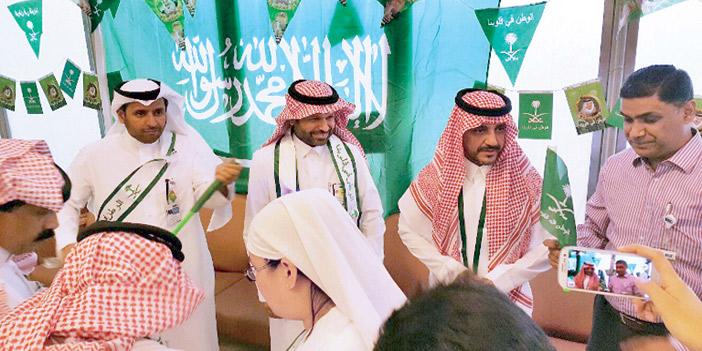 King Saud University- Medical City Celebrates Saudi National Day & Eid Al-Adha