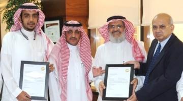 الشؤون الهندسية بالمدينة الطبية بجامعة الملك سعود تحصل على شهادة اعتماد معهد أبحاث الرعاية الطارئة