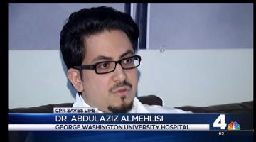 -السعودي د.عبدالعزيز المحلسي على الأخبار الامريكية بعد انقاذ حياة شخص بمشية الله