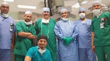 للمرة الأولى في العالم العربي .استخدام تقنية العلاج الإشعاعي بالإلكترون لسرطان الثدي بطبية الجامعة