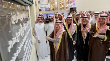 أمير الرياض فيصل بن بندر بن عبدالعزيز يفتتح توسعة مستشفى الملك خالد الجامعي