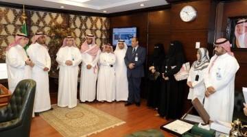 تغذية مستشفى الملك عبدالعزيز الجامعي بالرياض تحصل على ISO 22000