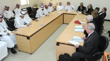 Delegation of Royal College of Physicians and Surgeons of Canada Visits College Medicine in KSU