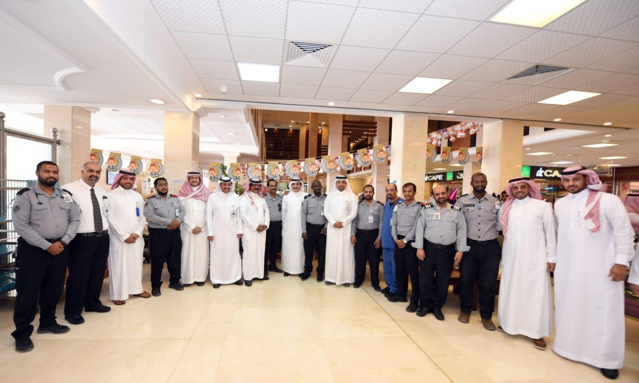 المدينة الطبية تعايد المنومين في مستشفيي الملك خالد والملك عبدالعزيز الجامعي